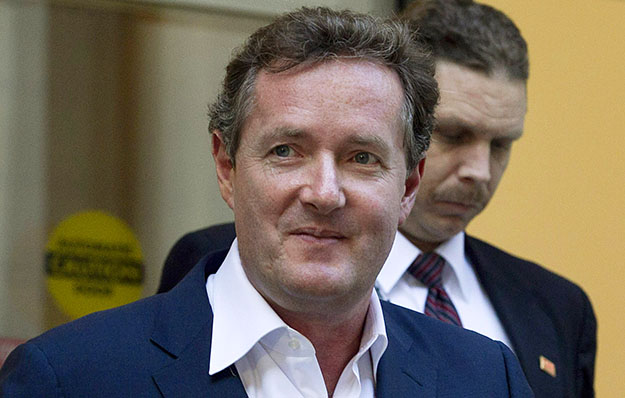 Piers Morgan leaving CNN in Los Angeles
