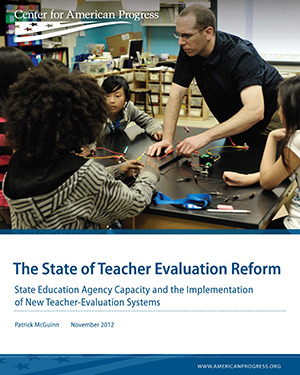 The State of Teacher Evaluation Reform
