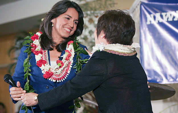 Hanabusa and Gabbard