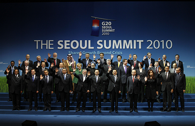 G20 summit in Seoul