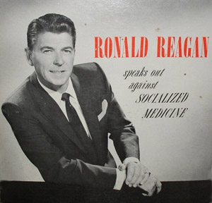 Image of Reagan against socialized medicine.