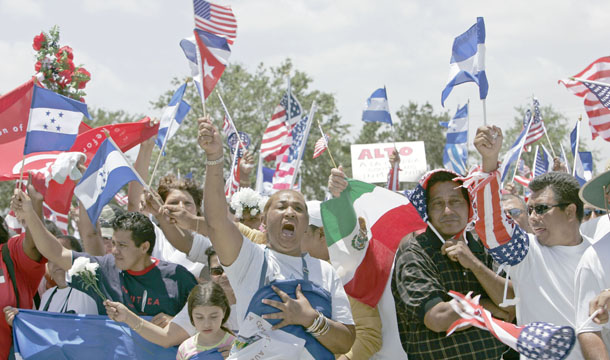 Hispanic Latino Immigration Politics
