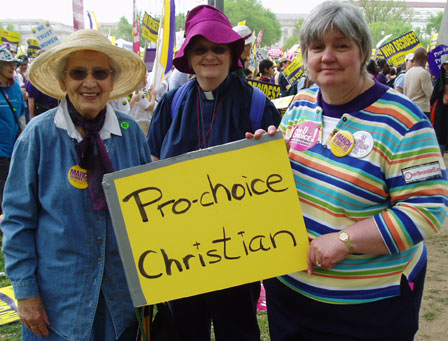 March for Women's Lives: Pro-Choice Christians