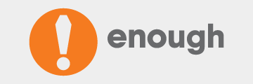 Enough Logo